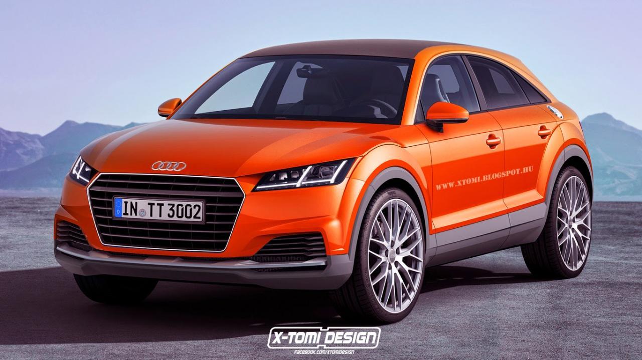 Prima randare cu posibilul Audi TTQ