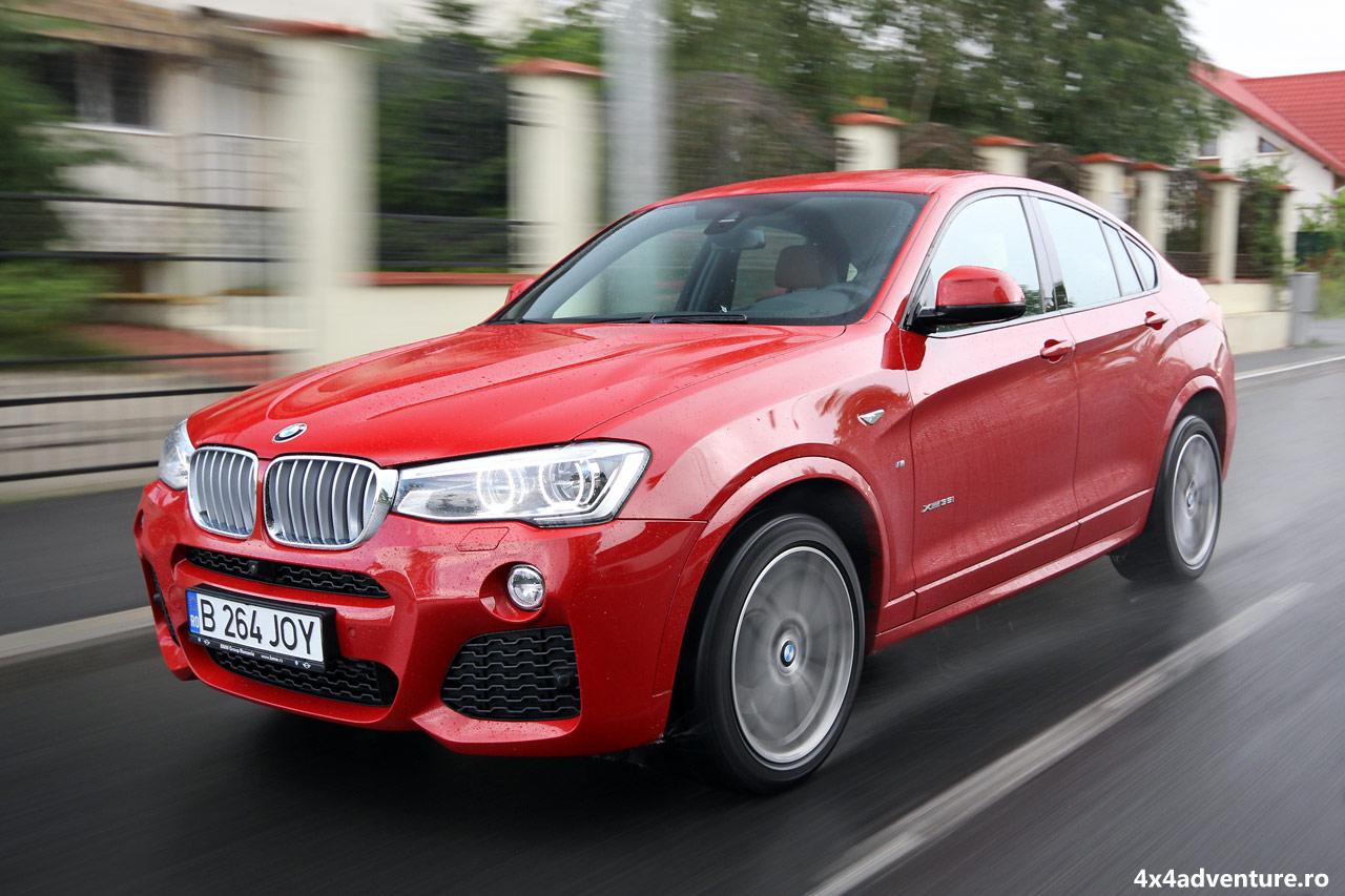 Un 4×4 în haine de coupe. Test cu BMW X4 35i xDrive