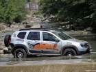 Dacia Duster off road tuning Mudster water test