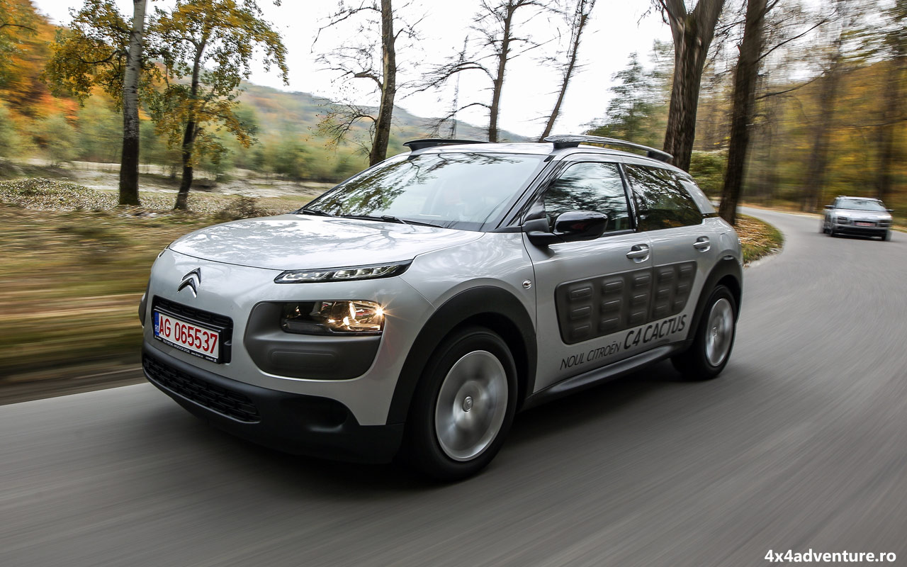 Noul Citroen C4 Cactus a fost lansat oficial în România