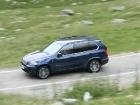 BMW X5 40d diesel action transfagarasan