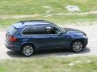 BMW X5 40d diesel rear view transfagarasan