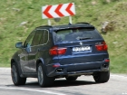 BMW X5 40d diesel curve