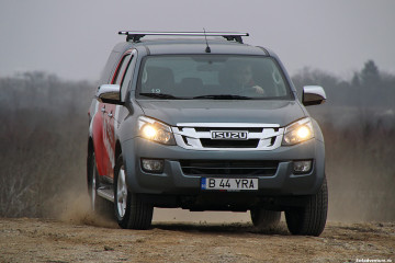 Isuzu-D-max-test-drive-romania-front