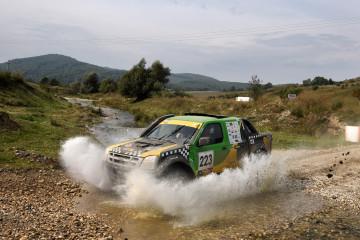 Vincenzo Cangi la Transcarpatic Rally, etapa din C.N. de Rally-Raid al Romaniei  sezonul 2015