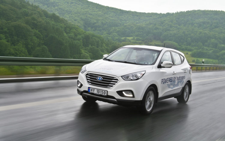 record Hyundai ix35 Fuel Cell