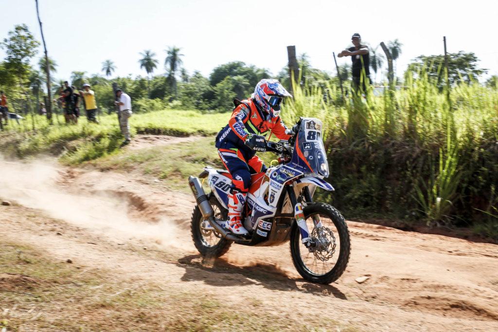 Marcel Butuza in timpul primei speciale din Dakar 2017