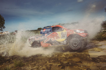 Nasser Al Attiyah castigatorul primei speciale din Dakar 2017. Foto: Red Bull Content Pool
