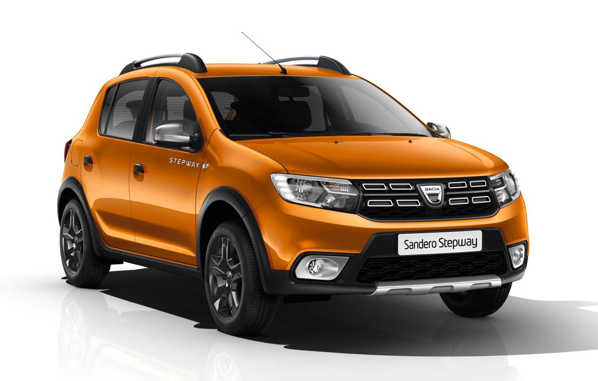 dacia vine la geneva cu un nou membru al familiei stepway 4x4 adventure. Black Bedroom Furniture Sets. Home Design Ideas