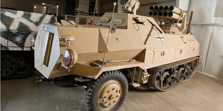 Opel Maultier Panzer-Werfer 42