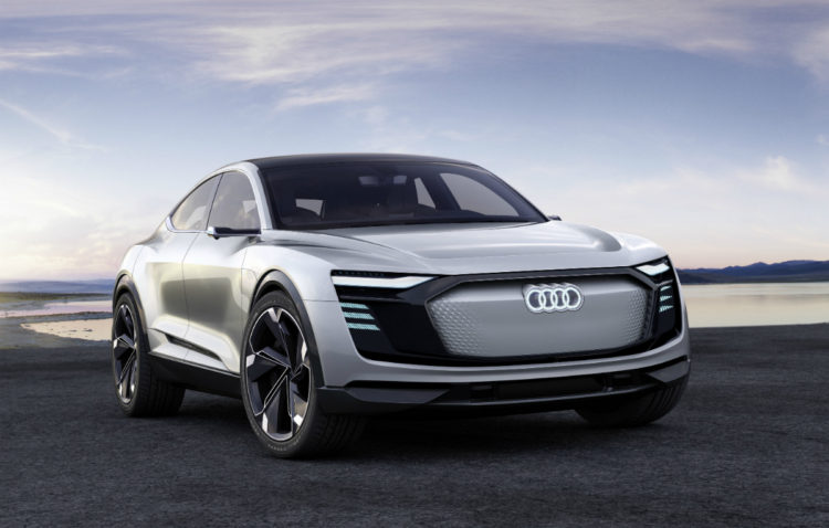 2018 Audi e-tron Sportback