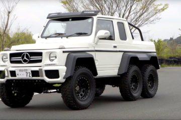 Doua Suzuki Jimny au fost transformate intr-o clona de Mercedes-AMG G63 6x6