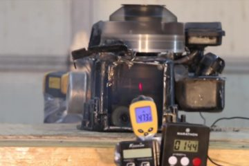 Un motor monocilindru merge fara ulei pana la distrugere