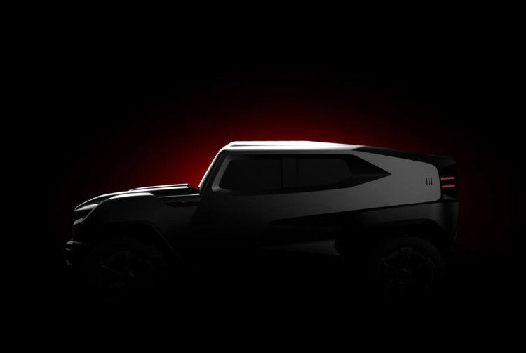 Rezvani Beast SUV teaser