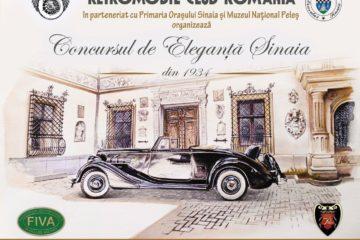Editia 2017 a Concursului de Eleganta de la Sinaia are loc in 24 iunie