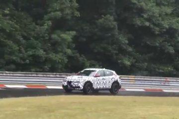 Alfa Romeo Stelvio Quadrifoglio alearga pe Nurburgring