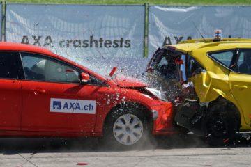 Accident la 60 km/h