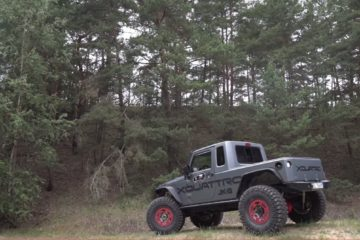 Jeep Wrangler modificat - Jeeper 2017 Europe winner
