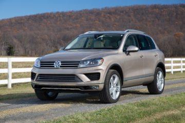 2017 Volkswagen Touareg US spec
