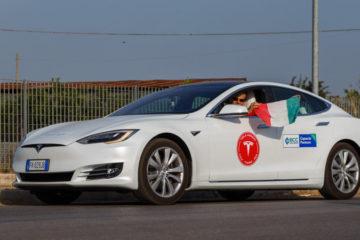 1000 km cu Tesla Model S P100D