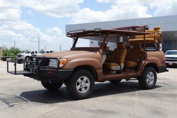 Conversie pentru vănătoare aplicată unui Toyota Land Cruiser