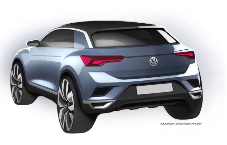 Volkswagen T-Roc schita oficiala