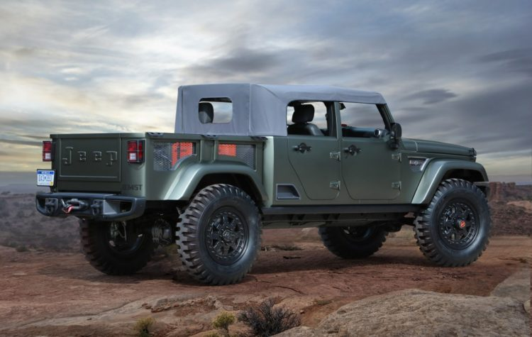 Jeep Crew Chief 715 Concept - 2016