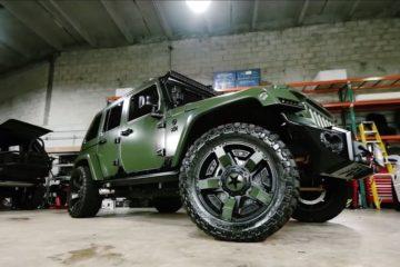 Jeep Wrangler verde mat JP Extreme