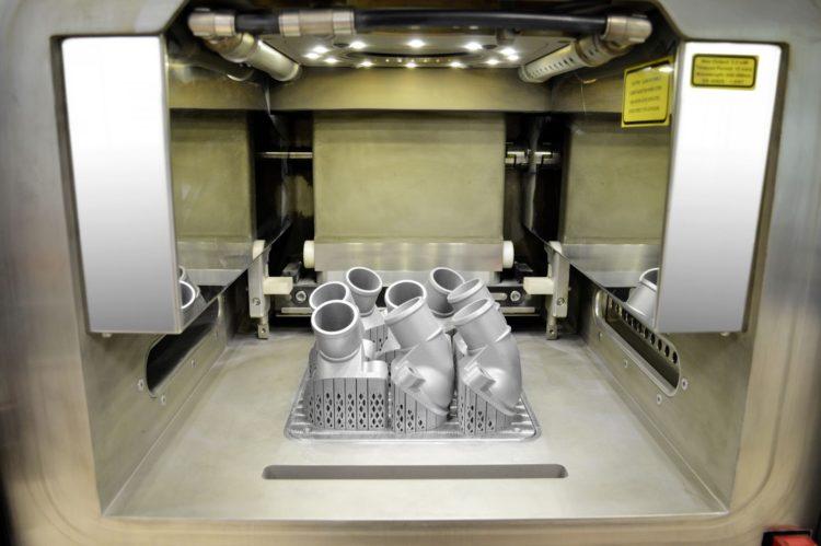 piese mercedes benz printate 3d din aluminiu