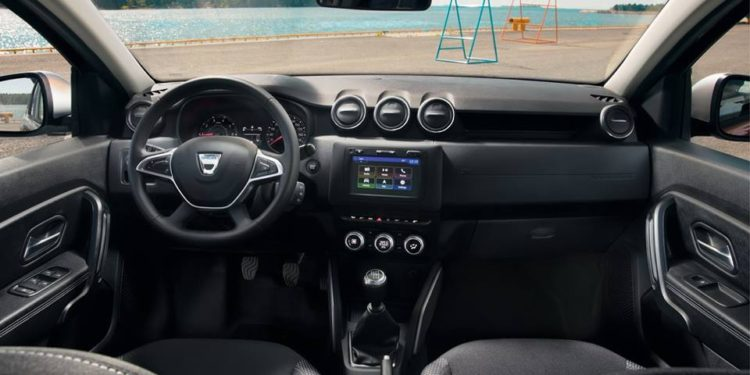 Dacia Duster 2018 interior