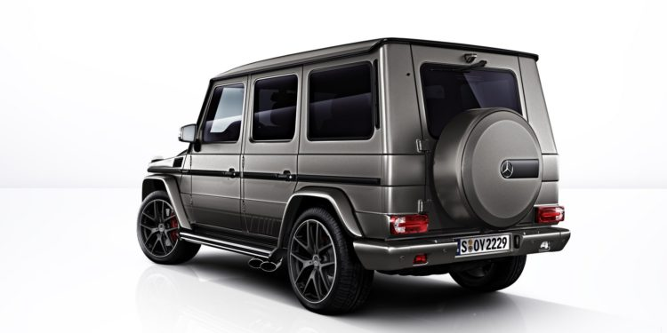 Mercedes-AMG G63 și G65 Exclusive Edition