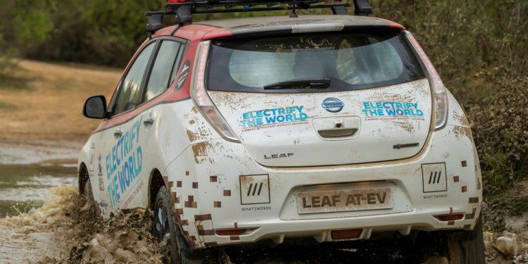 Nissan Leaf @ Mongol Rally