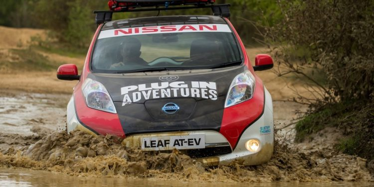 Nissan Leaf @ Mongol Rally