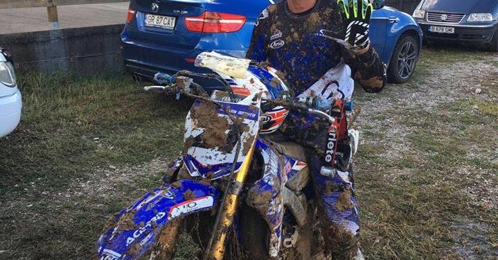Adi Răduță este campion Est European la clasa MX1 de motocross