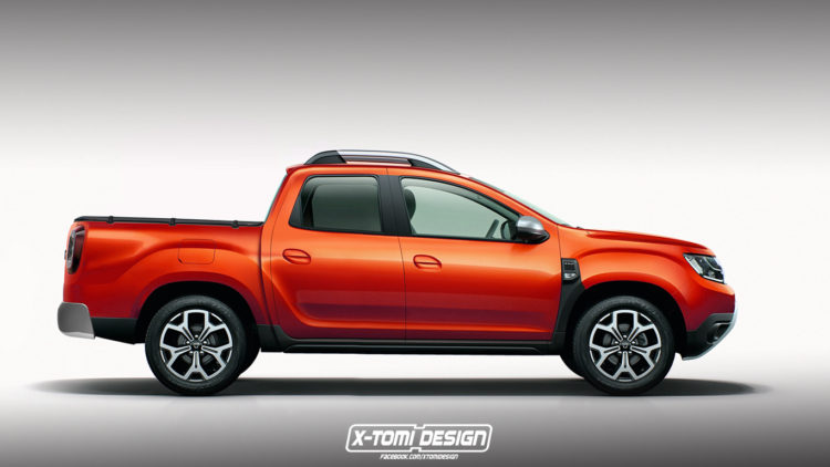 Dacia Duster 2 pick-up