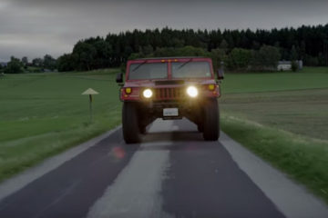Hummer H1 electric by Kriesel