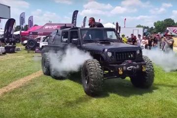 Jeep Wrangler JK abur