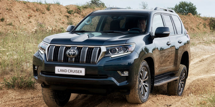 Toyota Land Cruiser LC150 facelift