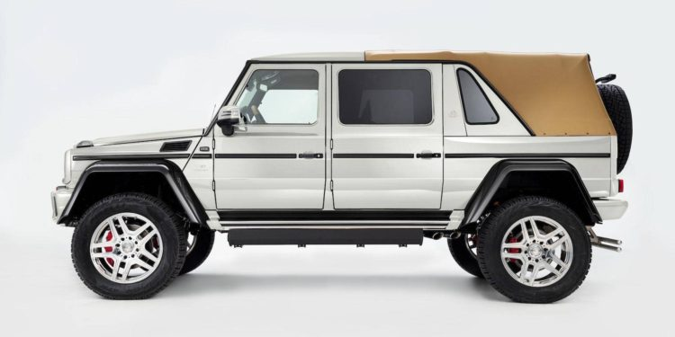 Mercedes-Maybach G650 Laundalet