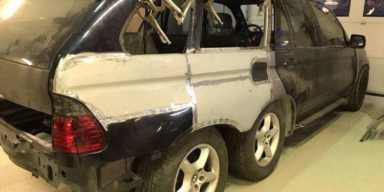 BMW X5 6x6 by Nautiluz Creation