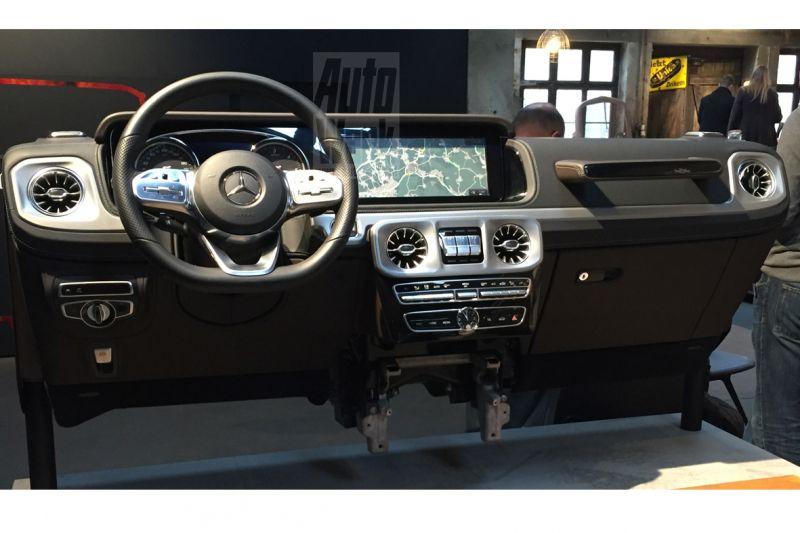 Interior Mercedes-Benz G-Class 2018