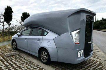 Toyota Prius Camping