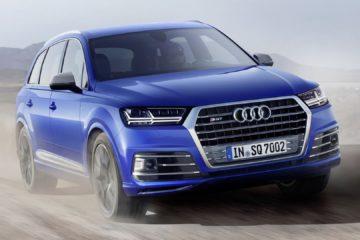 Audi SQ7 TDI, cel mai puternic diesel al mărcii