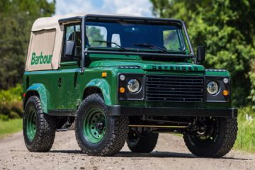 Barbour Land Rover Defender