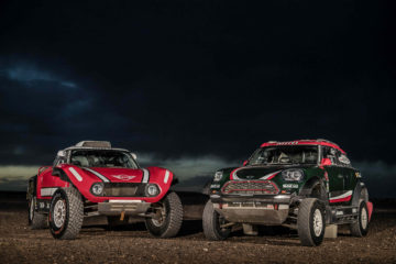 MINI John Cooper Works Rally și MINI John Cooper Works Buggy