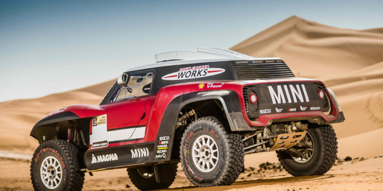 MINI John Cooper Works Rally și MINI John Cooper Works Buggy