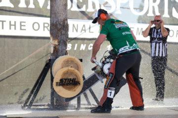 Romania la STIHL Timbersports