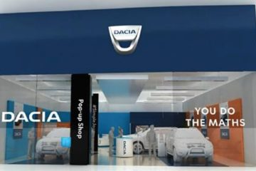 magazin pop up dacia