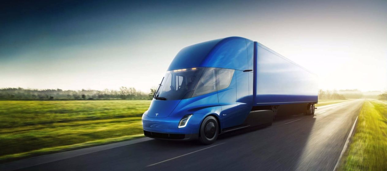 Camion electric Tesla