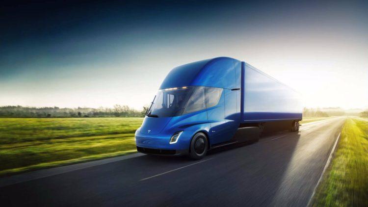 Camion electric Tesla